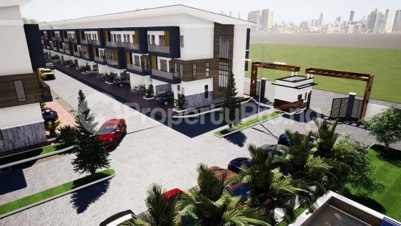 4 bedroom Terraced Duplex House for sale Opposite NICON TOWN Estate,few minutes after Nike Art Gallery Ikate Lekki Lagos - 1