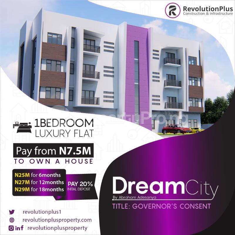 1 bedroom Flat / Apartment for sale Dream City Estate, Abraham Adesanya Abraham adesanya estate Ajah Lagos - 0