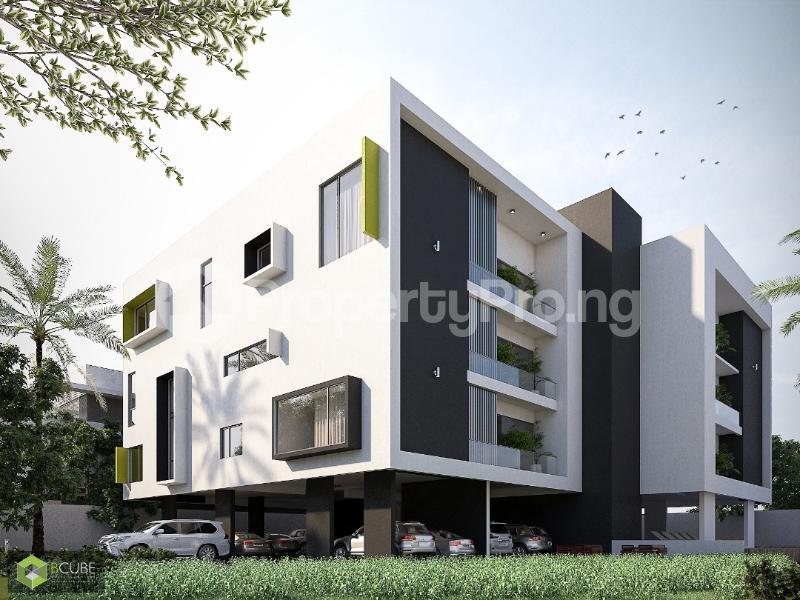 1 bedroom mini flat  Self Contain Flat / Apartment for sale Taiye Olowu Street Off Victoria Arobieke. Lekki Phase 1 Lekki Lagos - 0