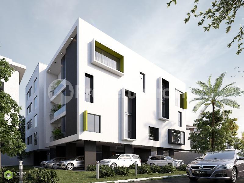 1 bedroom mini flat  Self Contain Flat / Apartment for sale Taiye Olowu Street Off Victoria Arobieke. Lekki Phase 1 Lekki Lagos - 1