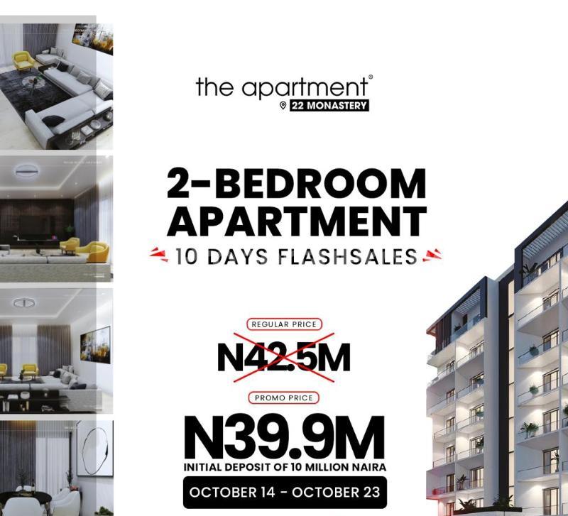 2 bedroom Blocks of Flats for sale The Apartment. Along Monastery Road. Lekki Phase 2 Lekki Lagos - 7