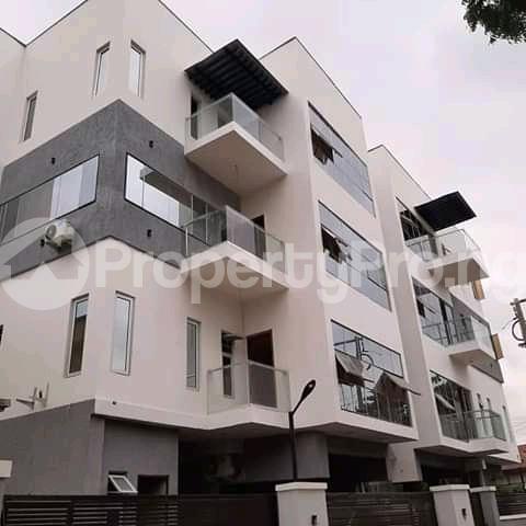 3 bedroom Blocks of Flats for sale Shonibare Estate Mobolaji Bank Anthony Way Ikeja Lagos - 1