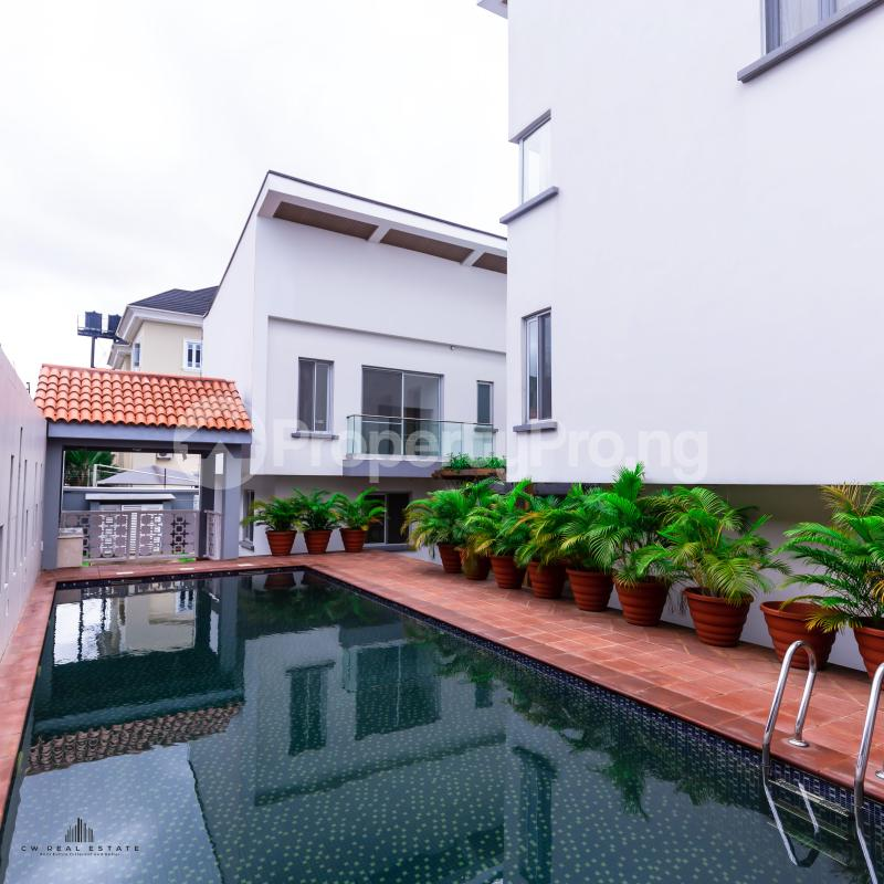 3 bedroom Terraced Duplex House for rent Banana Island Ikoyi Lagos - 6