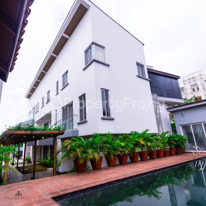 3 bedroom Terraced Duplex House for rent Banana Island Ikoyi Lagos - 5