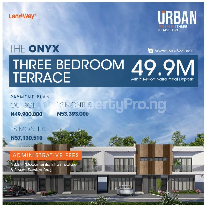 3 bedroom Terraced Duplex for sale The Onyx, Along Abraham Adesanya Road Ogombo Ajah Lagos - 10