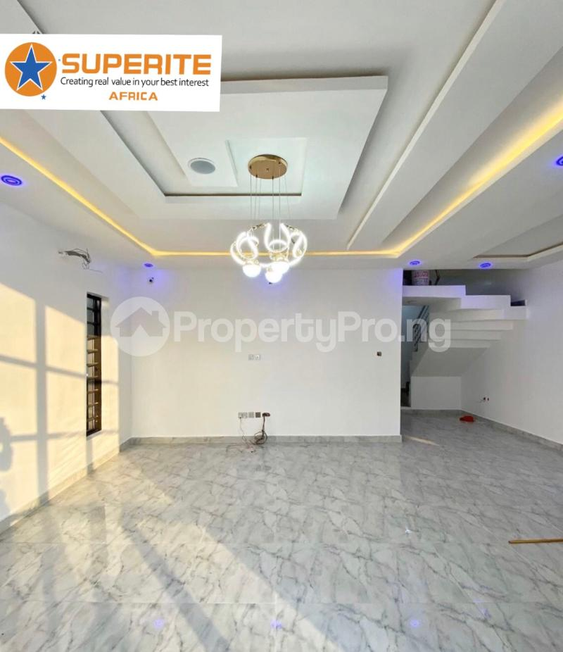 4 bedroom House for sale 2nd tollgate lekki  chevron Lekki Lagos - 3