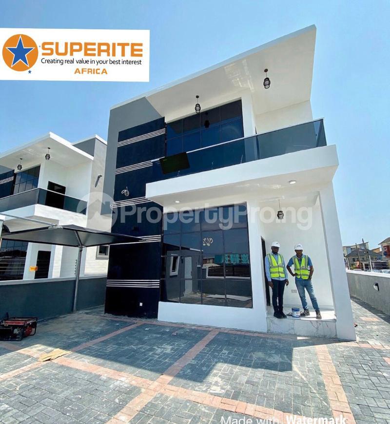 4 bedroom House for sale 2nd tollgate lekki  chevron Lekki Lagos - 1
