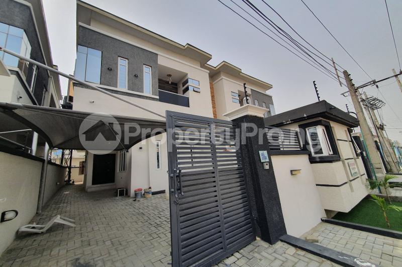 4 bedroom Semi Detached Duplex House for sale Osapa Axis Lekki Lagos - 0