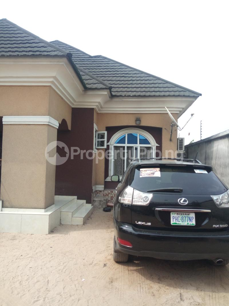 4 bedroom Detached Bungalow for sale Rumuesara Eneka Port Harcourt Rivers - 1