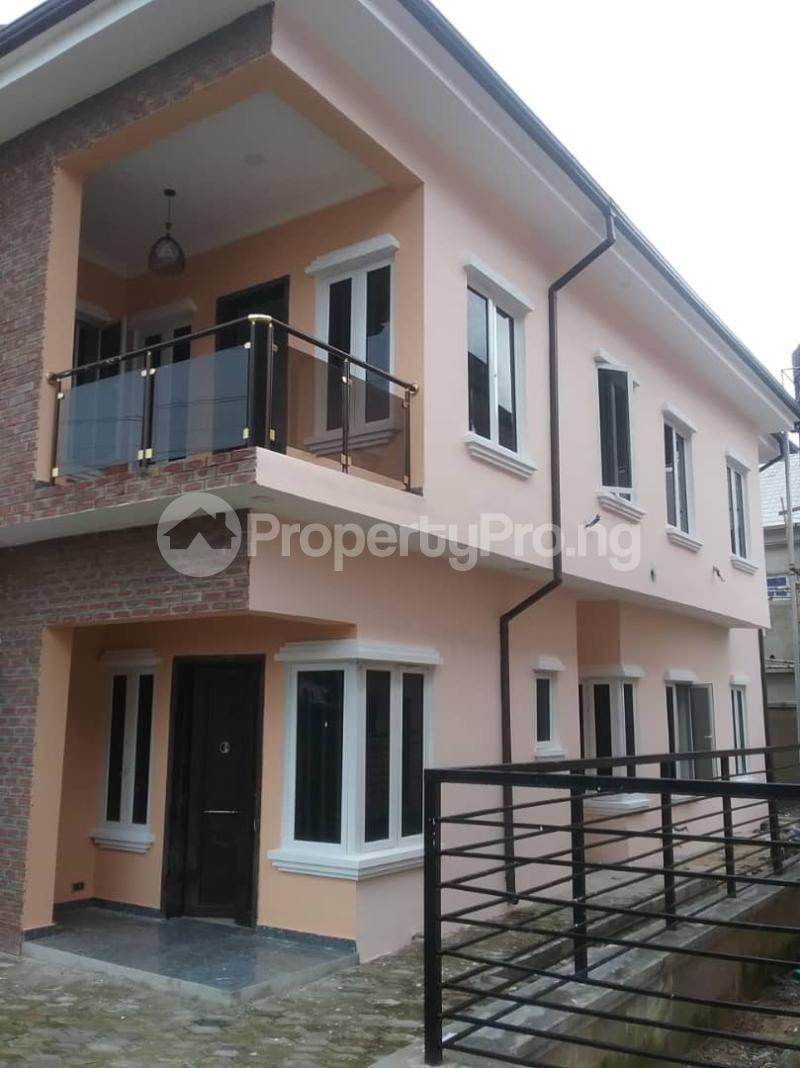 4 bedroom Semi Detached Duplex for sale Is At Victory Estate By Thomas Estate Off Lekki-Epe Expressway Ajah Lagos - 1