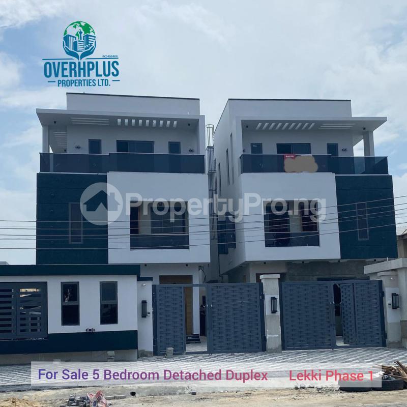 5 bedroom Detached Duplex for sale Lekki 1 Lekki Phase 1 Lekki Lagos - 0