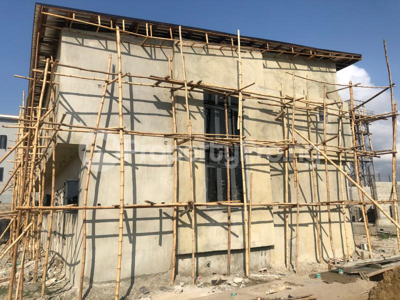 4 bedroom Terraced Duplex House for sale Few mins from House on the rock church; Nicon Town Estate, Salem Bus-stop Ikate Lekki Lagos - 1