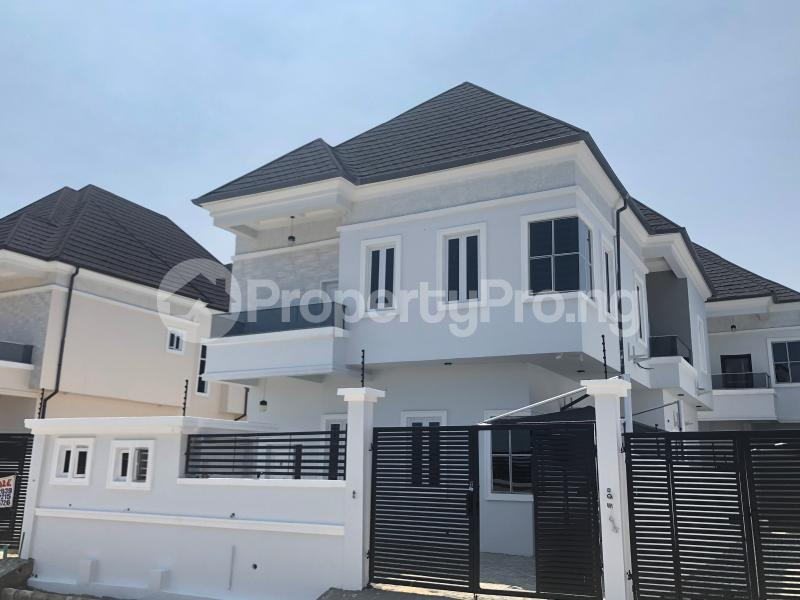 4 bedroom Detached Duplex House for sale Alternative route  chevron Lekki Lagos - 14