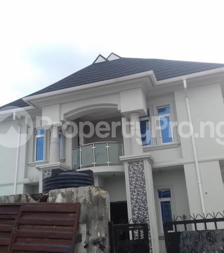 4 bedroom Detached Duplex for sale dideolu Estate, Ogba, Ikeja Lagos - 0