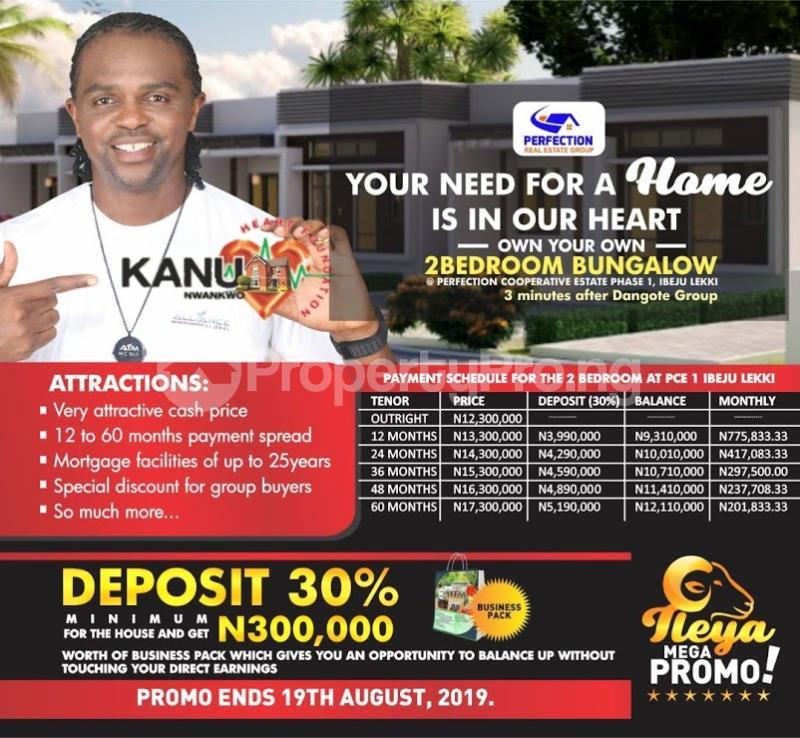 2 bedroom Detached Bungalow House for sale  1, Osoroko town in Ibeju Lekki just 3minutes drive after Dangote Group LaCampaigne Tropicana Ibeju-Lekki Lagos - 4