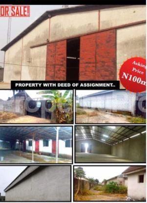 Warehouse Commercial Property for sale Omagwa; Igwurta-Ali Port Harcourt Rivers - 1