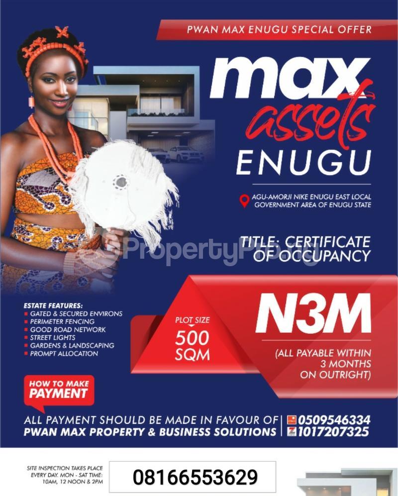 Serviced Residential Land for sale Enugu Enugu - 0