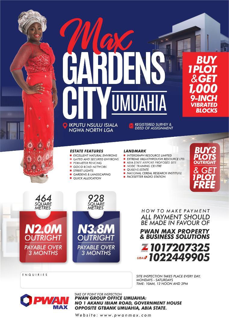 Land for sale Umuahia North Abia - 0