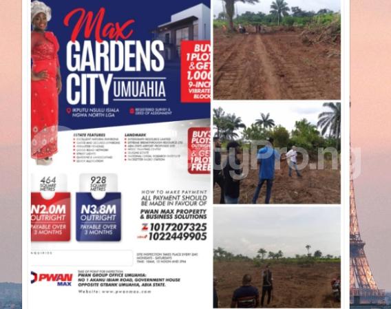 Mixed   Use Land for sale Umuahia Aba Umuahia North Abia - 0