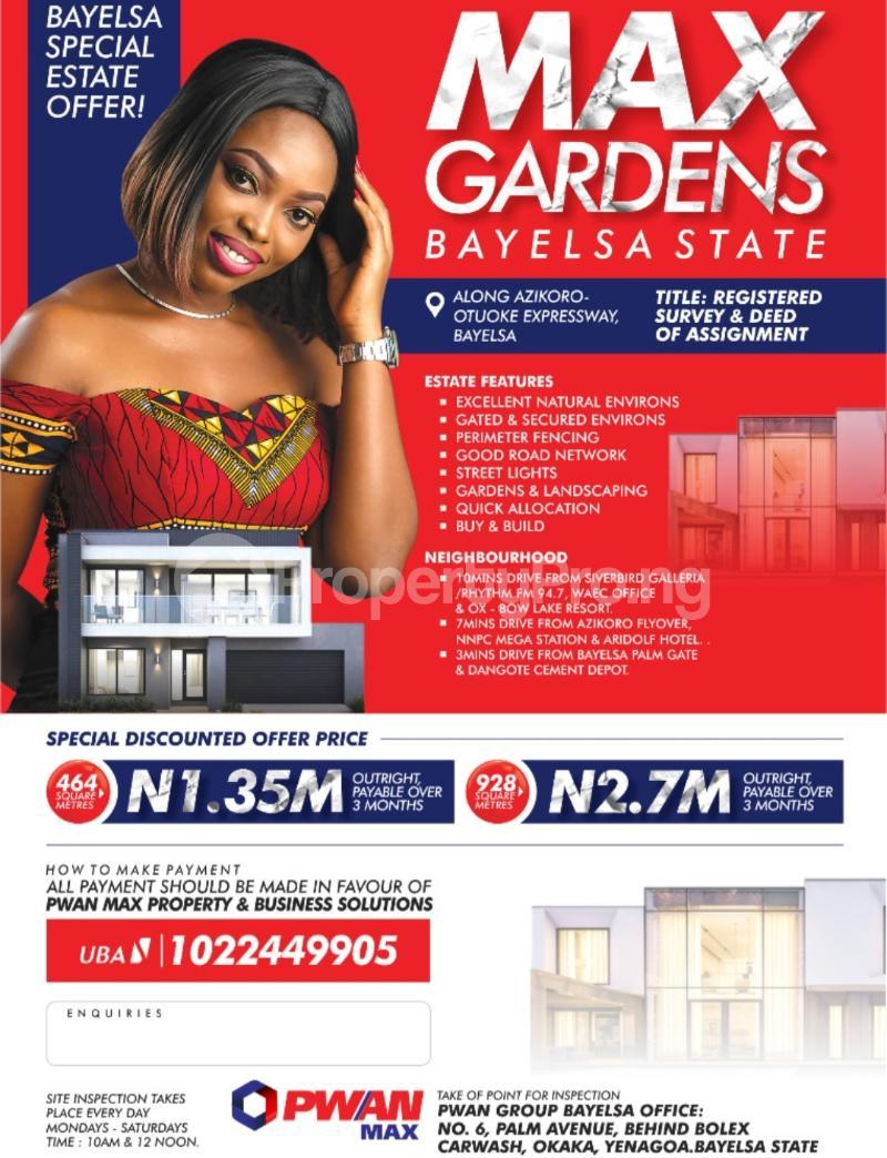 Mixed   Use Land for sale Yenegoa Bayelsa - 0