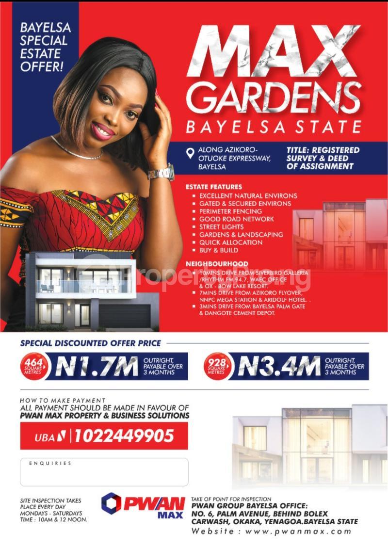 Mixed   Use Land Land for sale Yenegoa Bayelsa - 0