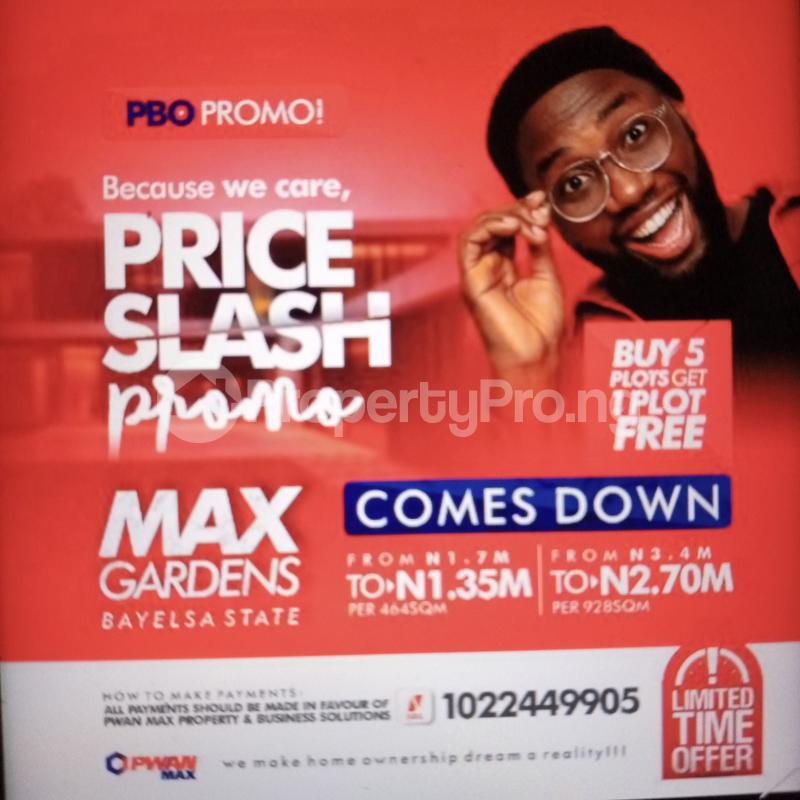 Mixed   Use Land for sale Nigeria Immigration Service & Buratai Army Barracks., Nnpc Mega Station & Aridolf Hotel ?? Waec Office , Silverbird Galleria/ Rhythm Fm 94.7 Yenegoa Bayelsa State Ogbia Bayelsa - 0