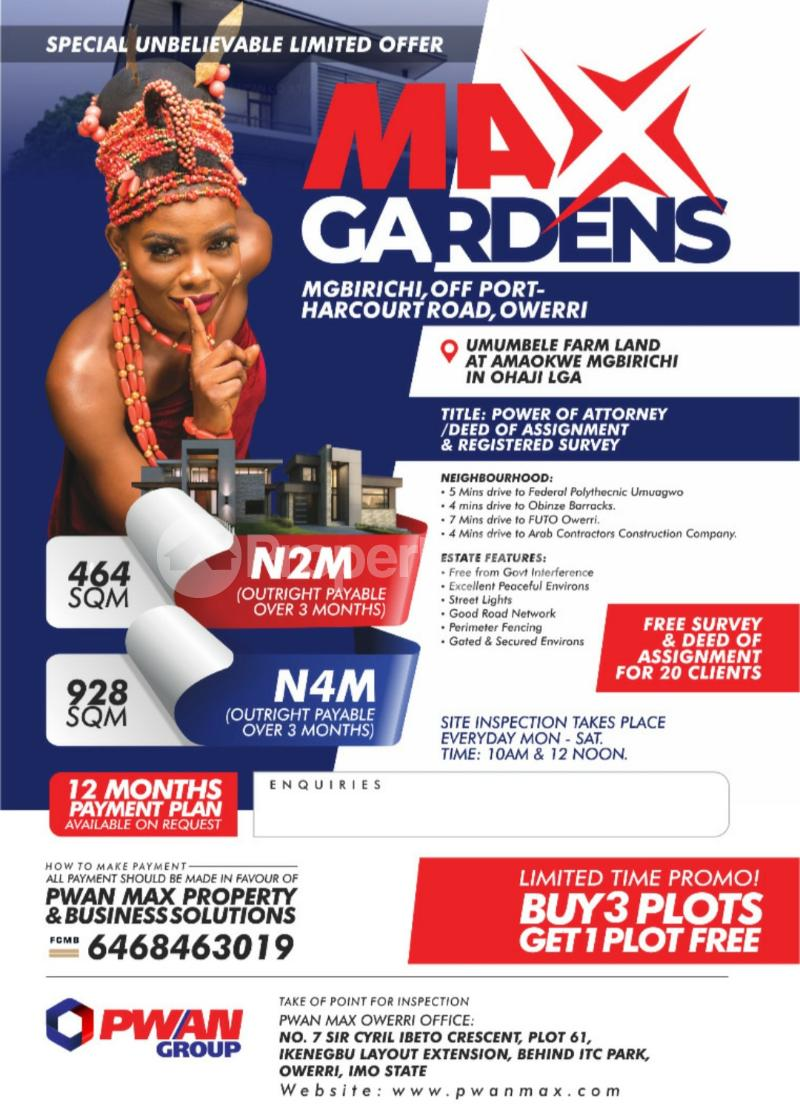 Mixed   Use Land Land for sale Owerri Imo - 0