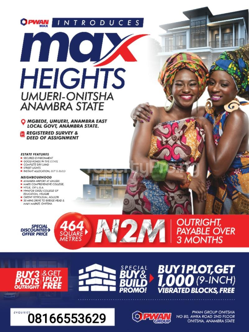 Mixed   Use Land Land for sale Onitsha South Anambra - 0