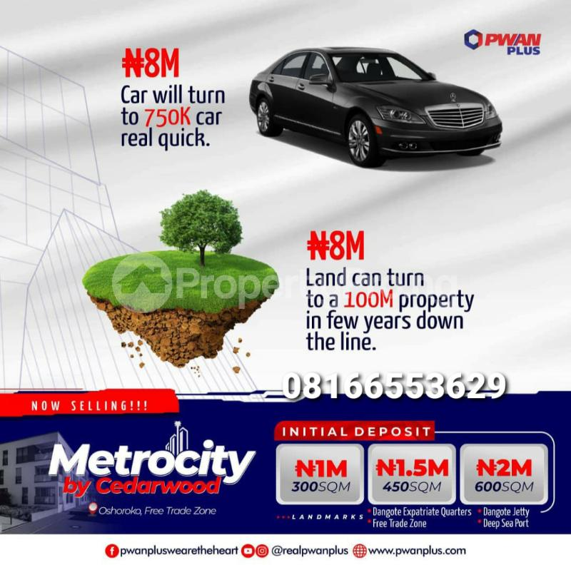 Serviced Residential Land for sale Free Trade Zone Ibeju-Lekki Lagos - 0