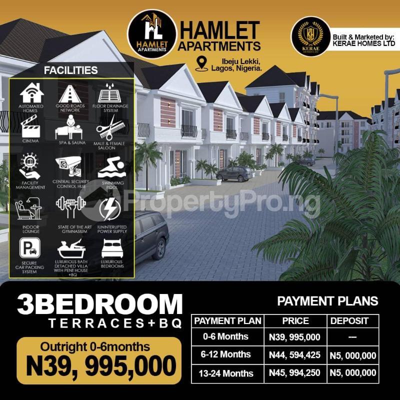 3 bedroom Flat / Apartment for sale Lekki Seaport, Dangote Refinery, Eleko Beach, Chaka Resort, Proposed International Airport Free Trade Zone Ibeju-Lekki Lagos - 0