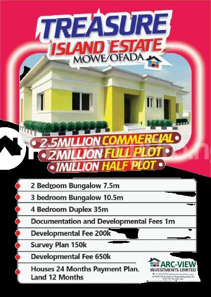 2 bedroom Semi Detached Bungalow House for sale Treasure Island Estate Mowe Ofada Ibafo Obafemi Owode Ogun - 3