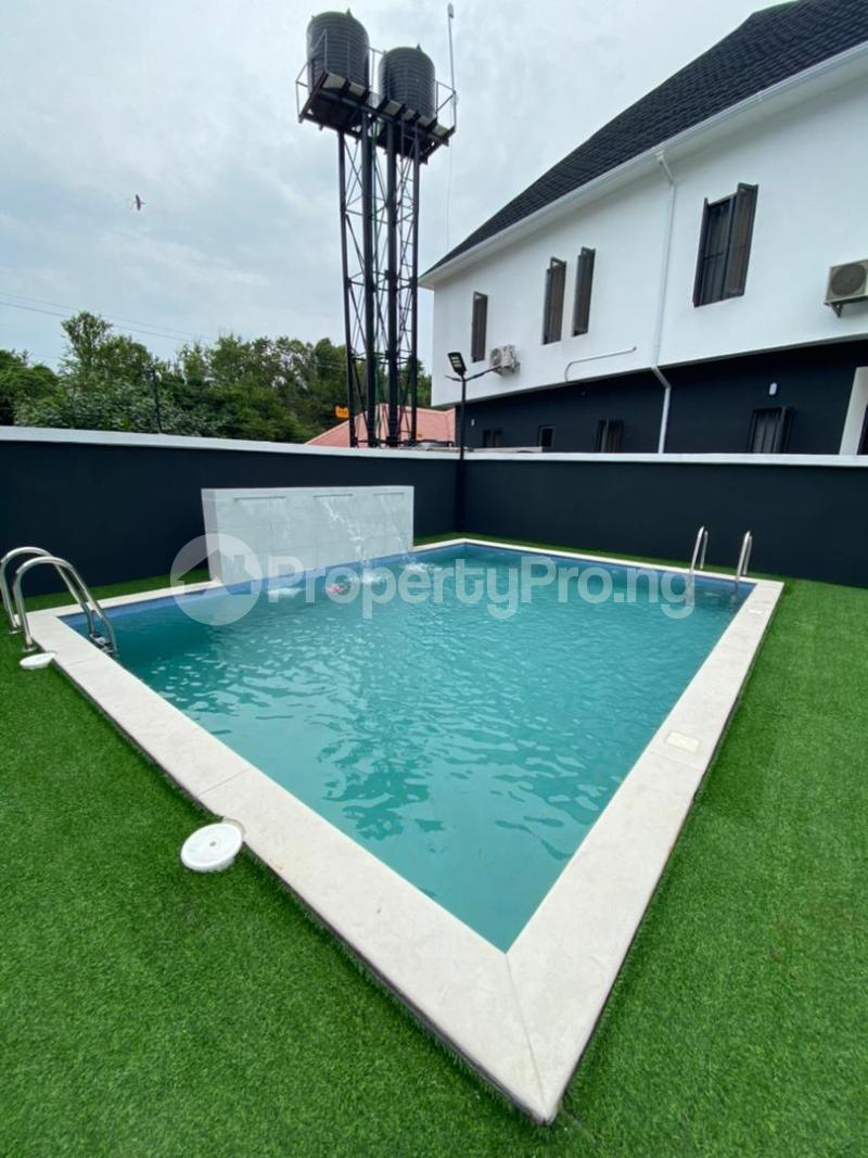 2 bedroom Semi Detached Duplex for shortlet Lekki Conservation Road chevron Lekki Lagos - 1