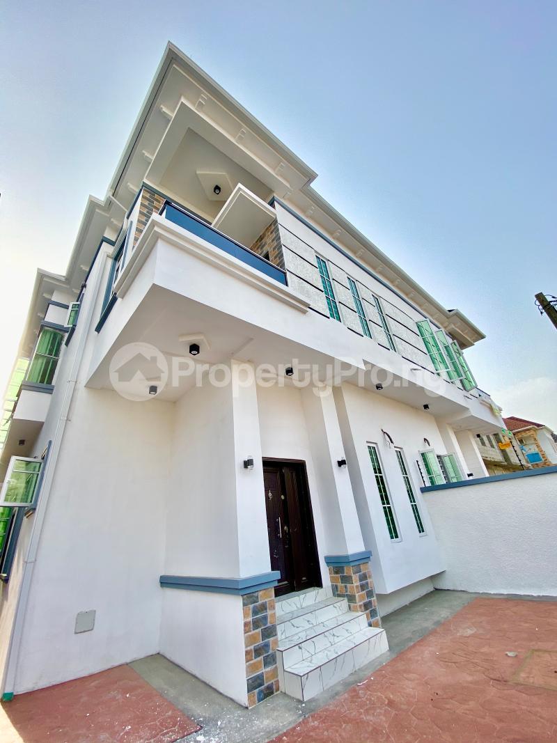 4 bedroom Semi Detached Duplex House for sale Osapa London Jakande Lekki Lagos - 9