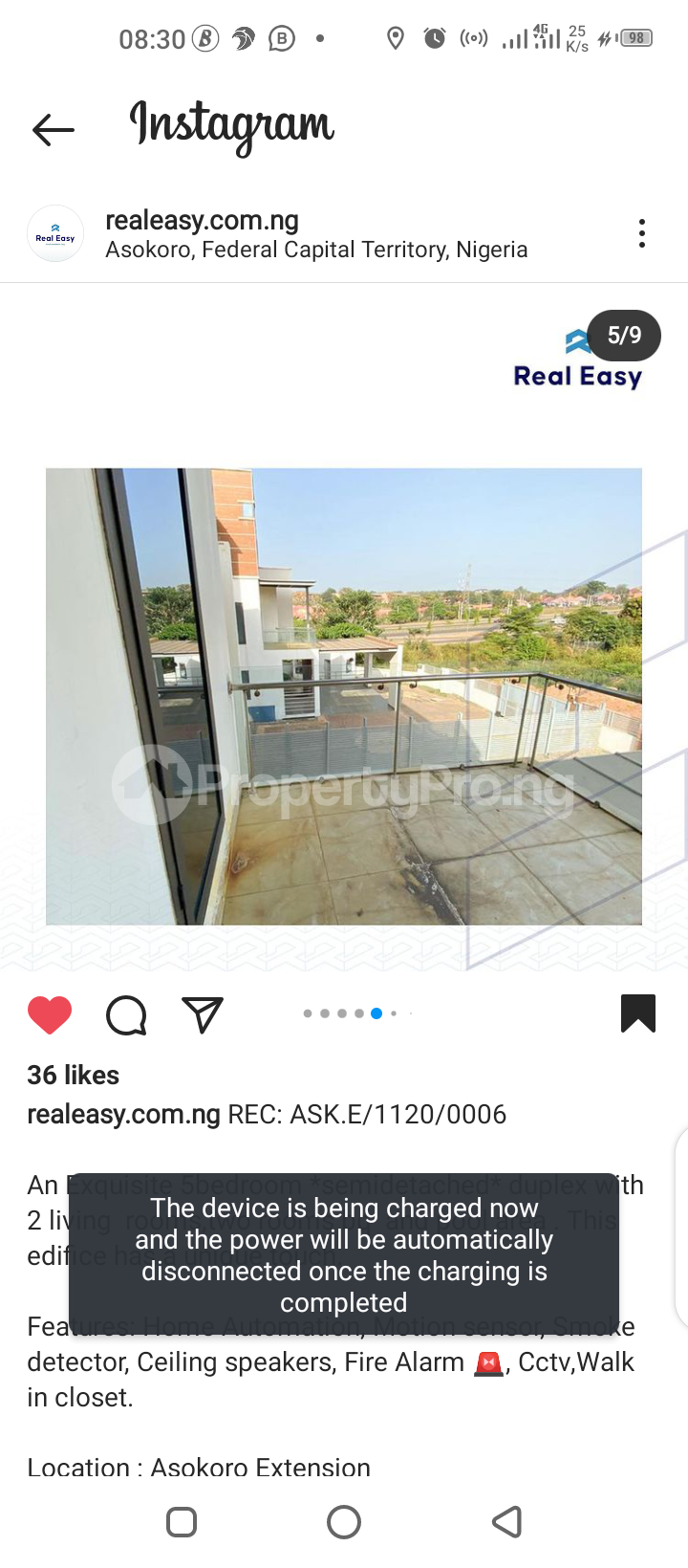 5 bedroom Semi Detached Duplex for sale Asokoro Abuja - 5