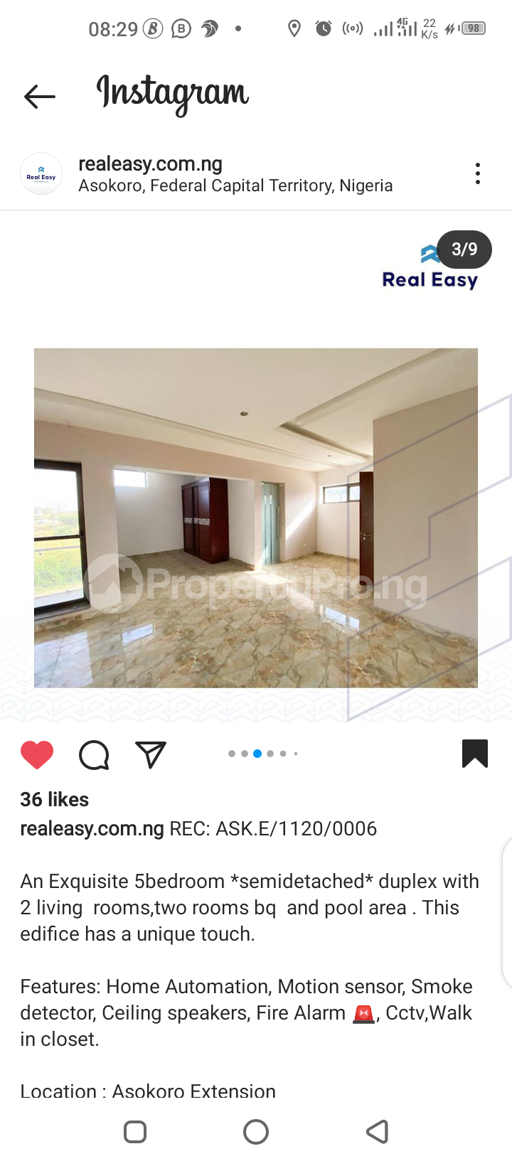 5 bedroom Semi Detached Duplex for sale Asokoro Abuja - 7