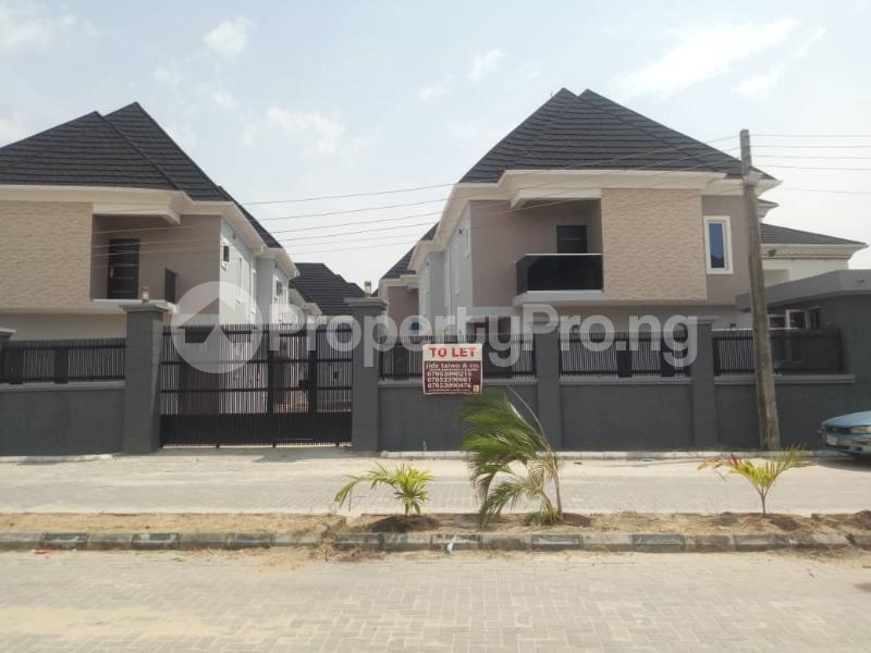4 bedroom Detached Duplex for rent Lekki Palm City Estate Ajah Lagos - 1