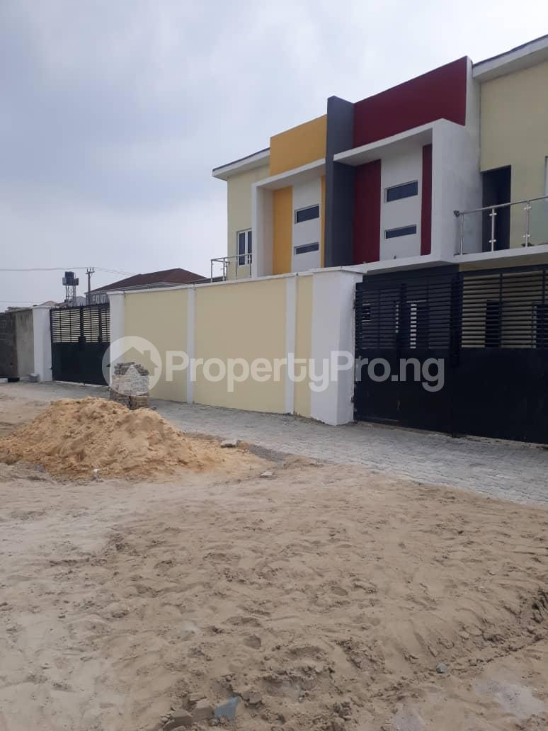 4 bedroom Semi Detached Duplex House for sale Alpha Beach Road chevron Lekki Lagos - 1