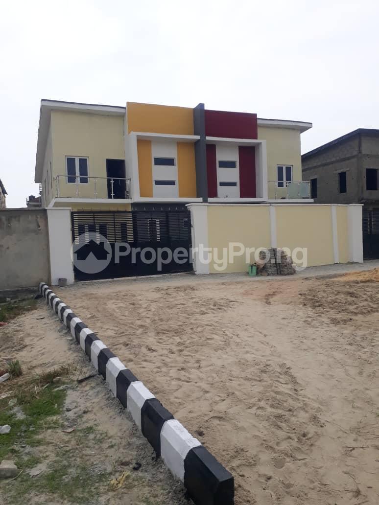 4 bedroom Semi Detached Duplex House for sale Alpha Beach Road chevron Lekki Lagos - 0