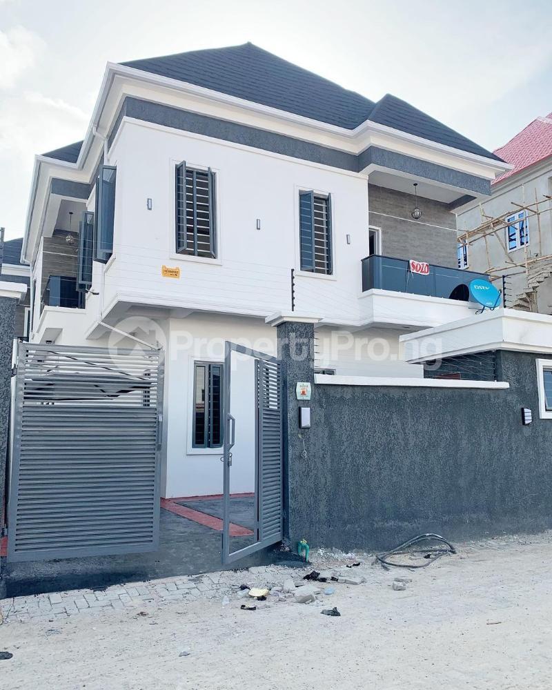 4 bedroom Detached Duplex House for sale Chevron. Gate Orchid chevron Lekki Lagos - 0