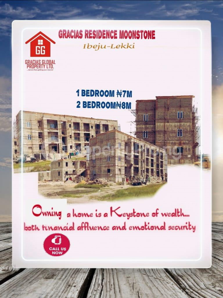 2 bedroom Self Contain Flat / Apartment for sale Moonstone Estate, Gracias Residences,Okunraiye Town, Ibeju Lekki,Lagos Okunraiye Ibeju-Lekki Lagos - 3