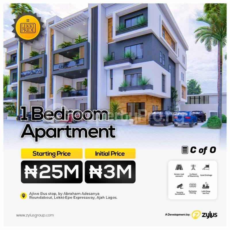 1 bedroom Blocks of Flats for sale Lekki Pride Estate Abraham Adesanya Ajiwe Ajah Lagos - 1