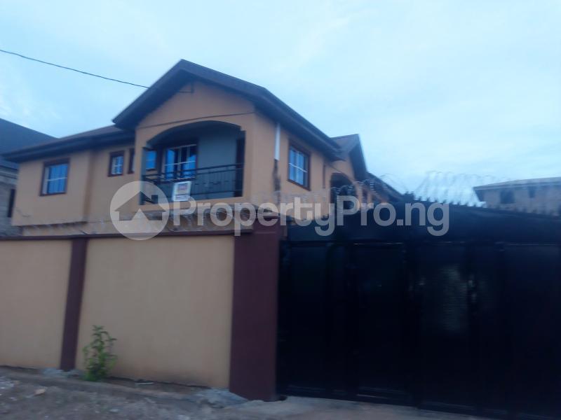 2 bedroom Flat / Apartment for rent Odutola estate command Abule Egba Abule Egba Lagos - 0