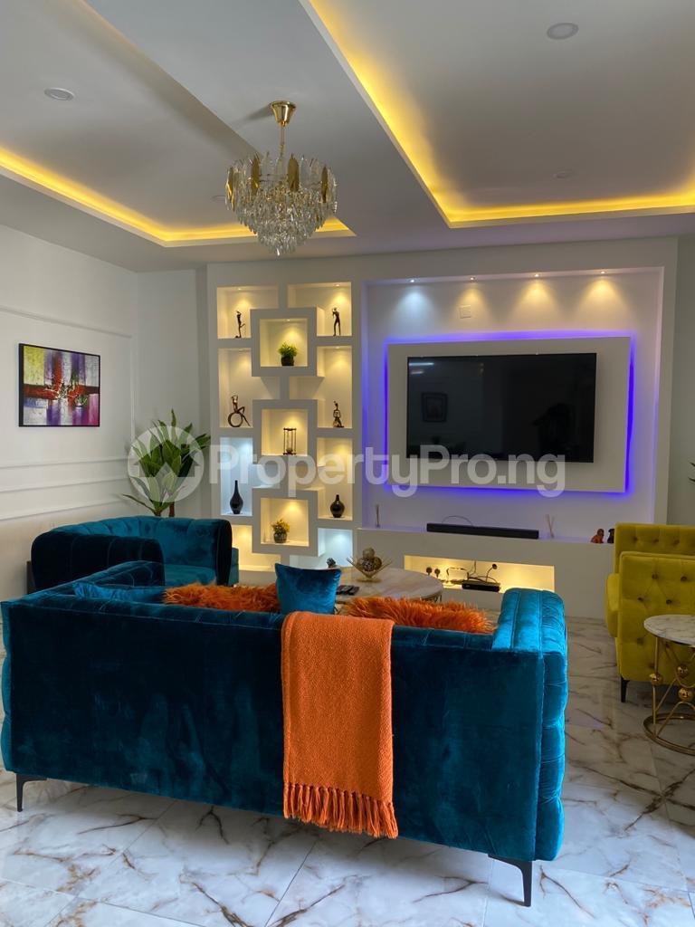 3 bedroom Detached Duplex for shortlet Conservation Road chevron Lekki Lagos - 1