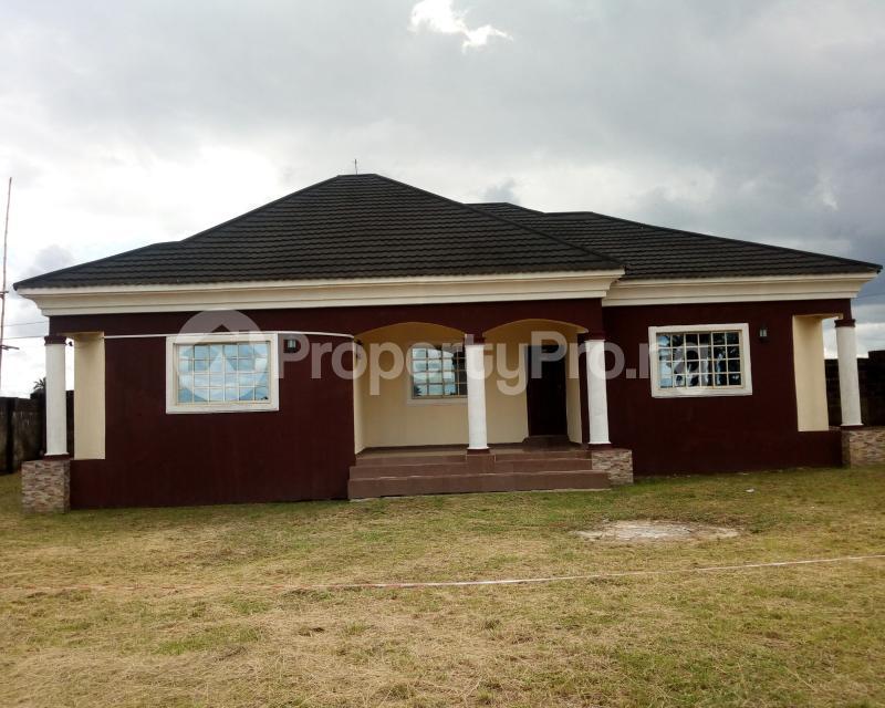 3 bedroom Detached Bungalow House for sale Ifa Ikot Okpon Road, Off Oron Road Uyo Akwa Ibom - 0