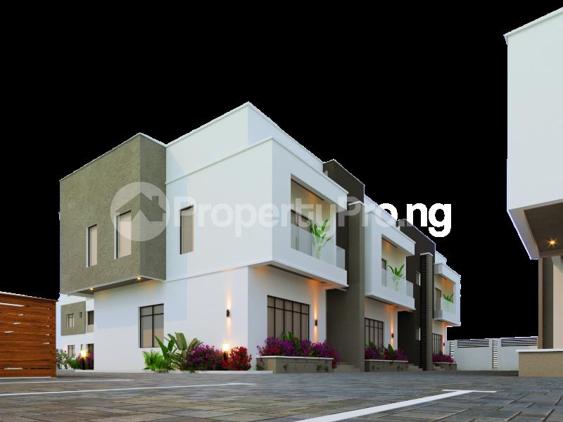 3 bedroom Terraced Duplex for sale Behind Beachwood Estate, Lekki Epe Expressway Ibeju-Lekki Lagos - 1