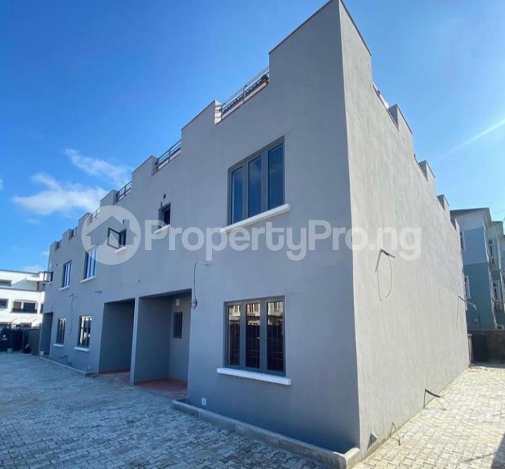 3 bedroom Terraced Duplex House for rent Chevron drive chevron Lekki Lagos - 0
