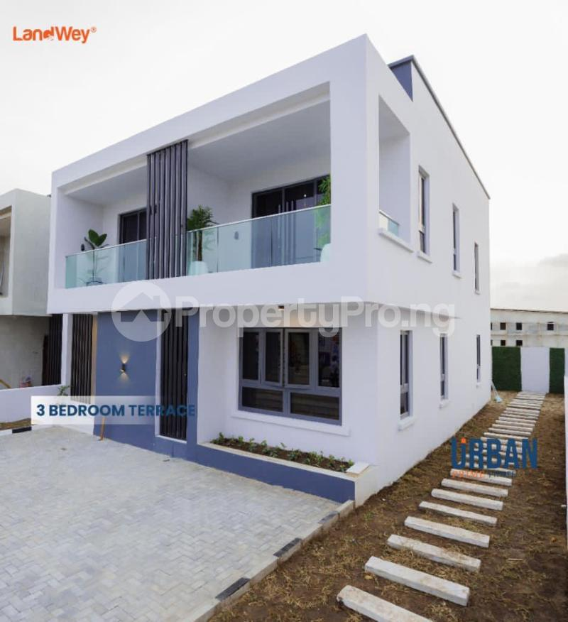 3 bedroom Terraced Duplex House for sale Urban Prime Three Estate. Ogombo Ajah Lagos - 1