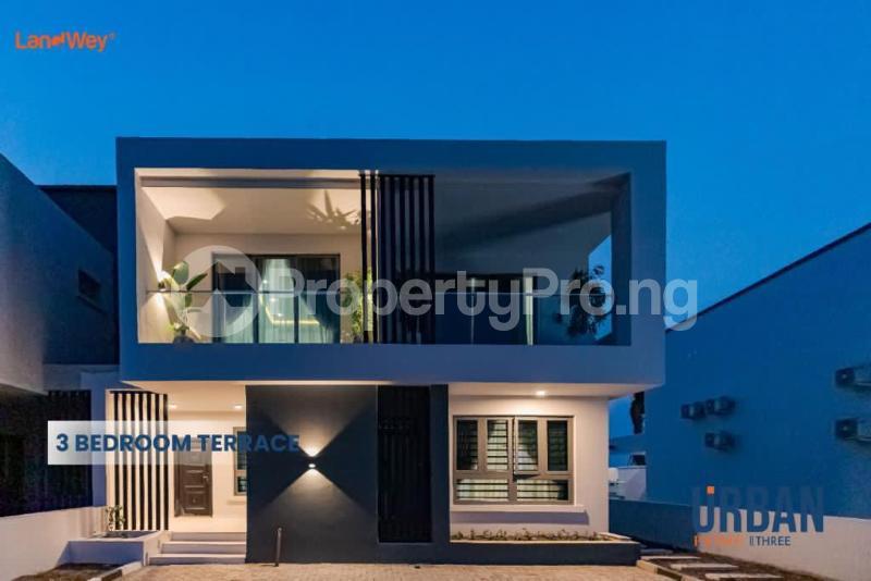 3 bedroom Terraced Duplex House for sale Urban Prime Three Estate. Ogombo Ajah Lagos - 0