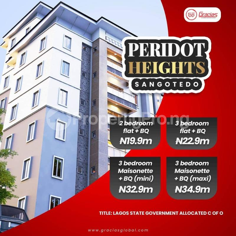 3 bedroom Massionette House for sale Period Heights Sangotedo Ajah Lagos - 2
