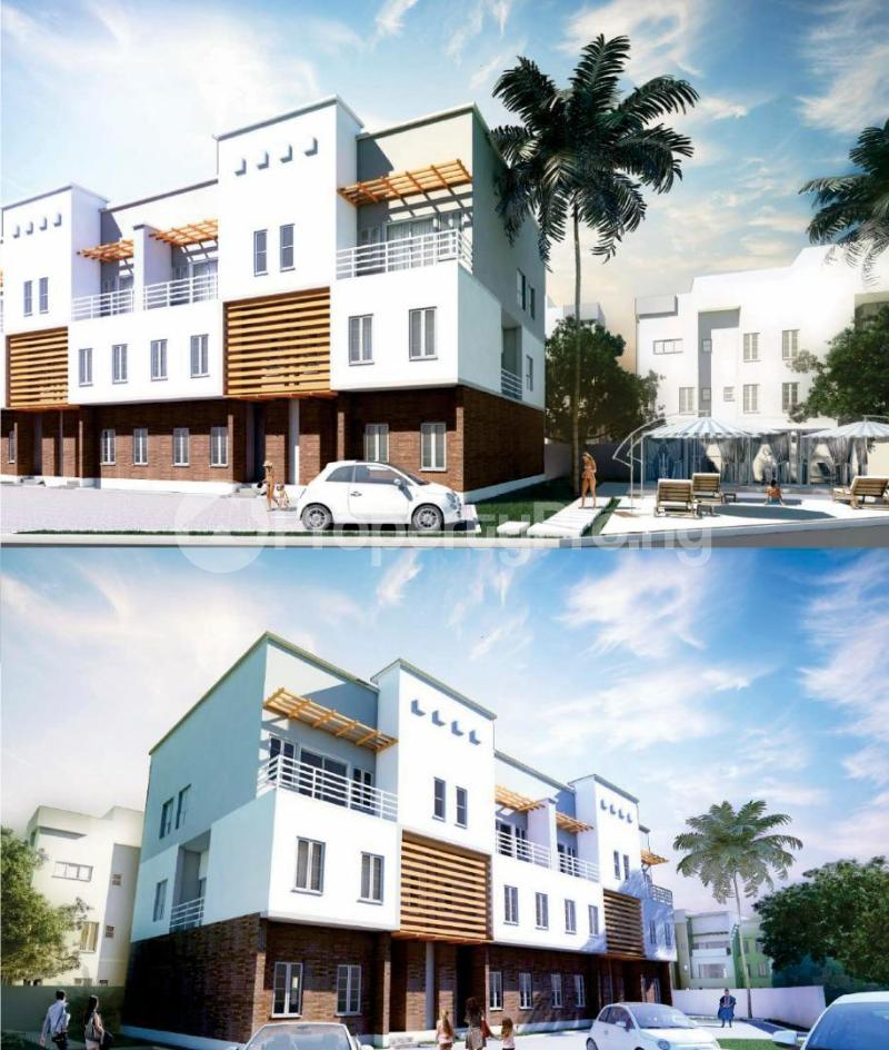 4 bedroom Terraced Duplex House for sale behind Turkish Hospital, beside United Nations Estate in lifecamp extension Karmo layout Cadastral Zone c01 Life Camp Abuja - 6